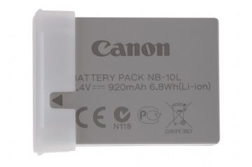 Canon NB-10L Lithium Ion Battery Pack for PS SX40 SX50 SX60 G15 G1X G3X